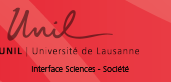 Logo Universität Lausanne Interface sciences - société